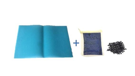 Kühlschrank Dufterfrischer : Frische für kühlschrank cm blau bambuskohle