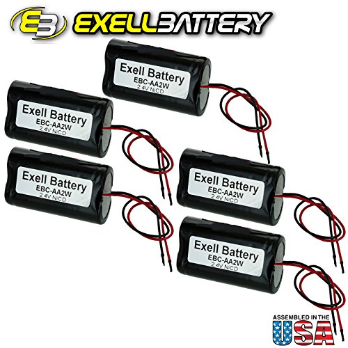 5pc-exell-24v-custom-nicd-1000mah-battery-pack-w5-awg-bare-wire-leads