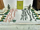 PLAY DESIGN Army Toy Military Model Action Figure Soldiers with Armored Car