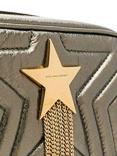 Stella Mccartney Damen 501172W82133200 Braun Leder Schultertasche