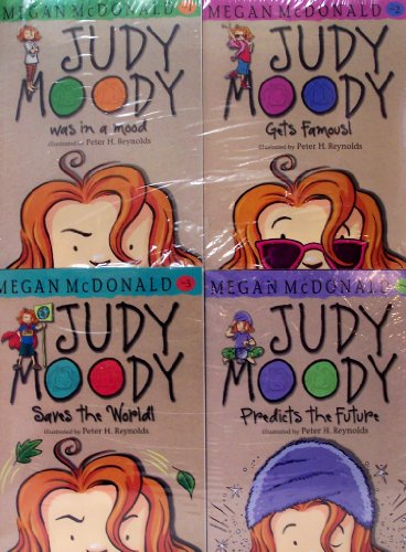 Judy Moody Was in a Mood / Judy Moody Gets Famous / Judy Moody Saves the World / Judy Moody Predicts the Future (Judy Moody, Vols. 1-4)