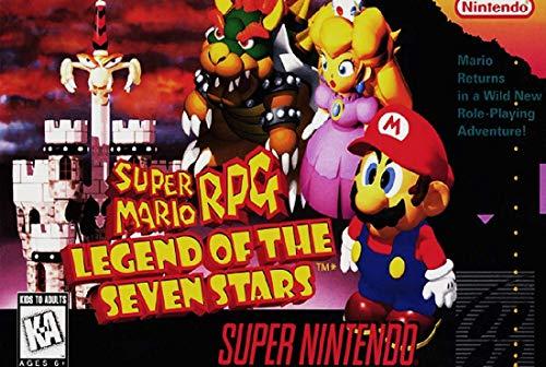 Super Mario RPG: Legend of the Seven Stars (Renewed) (Super Nintendo Mario Rpg)