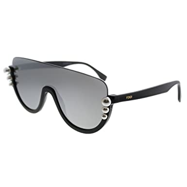 0f3df3e382 Image Unavailable. Image not available for. Color  Sunglasses Fendi Ff 296   S 0KB7 Gray ...