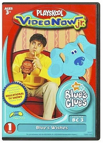 Videonow Jr. Personal Video Disc: Blue's Clues - Blue's Wishes