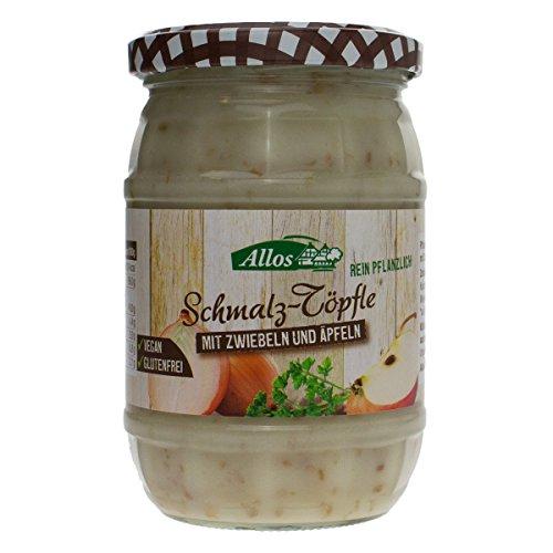 Allos Schmalz-Töpfle mit Zwiebeln und Äpfeln - Bio - 250g