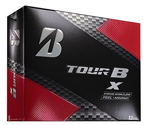 Bridgestone Golf 2018 Tour B X Golf Balls, White (One Dozen)