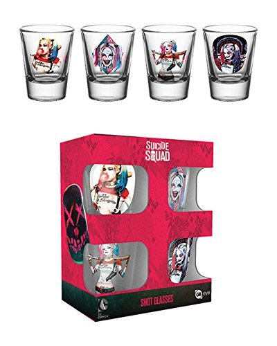 Harley Quinn Glasses (DC Comics