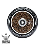 Envy Scooters Hollow Core Wheels 120mm (Pair) (Gold Bandana)
