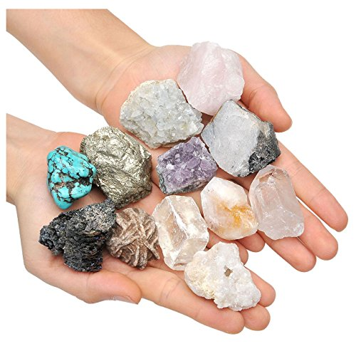 Jovivi 5pcs Rough Stones Mix 1