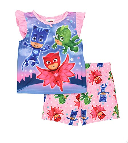 PJ Masks Girls Shorts Pajamas (Toddler)