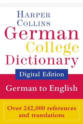 HarperCollins German-English College Dictionary (German College Dictionary 2) (German Edition)