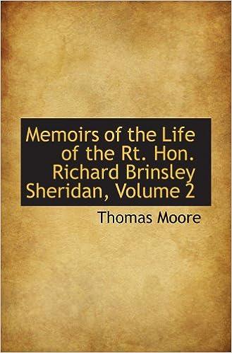 Download book free Memoirs of the Life of the Rt. Hon. Richard Brinsley Sheridan, Volume 2 en español PDF