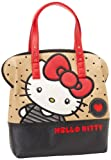Hello Kitty SANTB0750 Tote,Red/White/Brown/Black,One Size, Bags Central