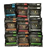 Pizootz Full Mix Variety Pack- 2 each 1.45 oz 9 Flavors-Flavor Infused Peanuts-Premium Virginia Gourmet Artisan Vegan Peanuts - (18) 1.45 oz bags …
