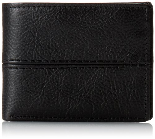 (Relic by Fossil by Fossil Men's Channel Leather Traveler Bifold Wallet,)