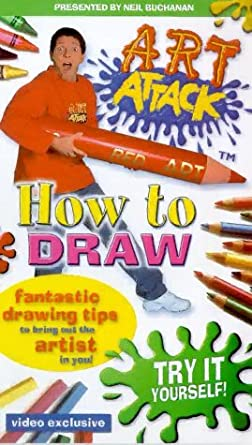 Art attack how to draw vhs art attack amazon video art attack how to draw vhs solutioingenieria Images