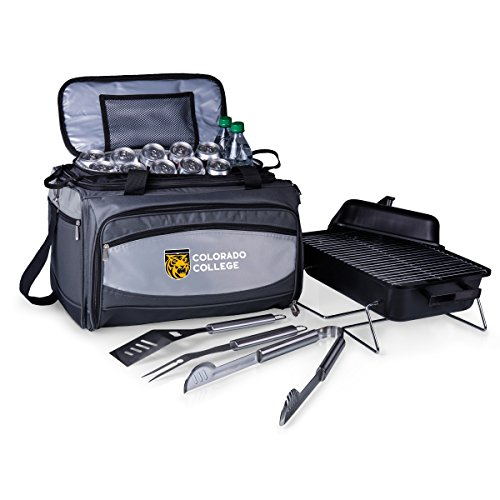 NCAA Colorado College Tigers Buccaneer Tailgating Cooler with Grill by PICNIC TIME