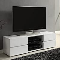 Coaster Home Furnishings 700825 Contemporary TV Console, White