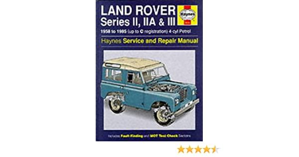 Rover 25 haynes manual ebook array land rover series 2 2a and 3 1958 85 service and repair manual rh fandeluxe Image collections