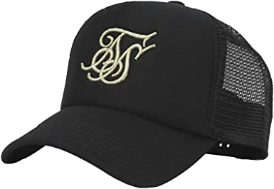 Gorra Siksilk Foam Trucker Cap Black Gold: Amazon.es: Ropa y ...