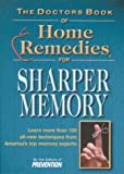 Sharper Memory, Prevention Magazine Health Book Staff, 1579542336