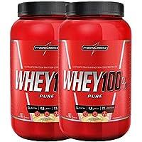 Kit 2x Whey 100% Pure 907g Baunilha Integralmedica