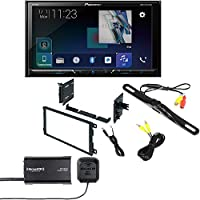 Pioneer AVH-600EX In-Dash Receiver DVD Receiver w/ 7 WVGA Display, Bluetooth, AppRadio SiriusXM SXV300V1 95-2009 Kit for 95-08 GM/Honda/Isuzu/Suzuki Night Vision Rear View Backup Color Camera
