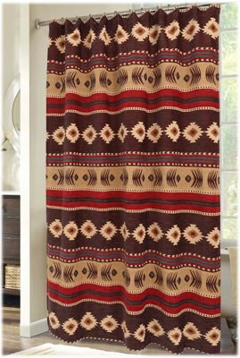 Cimarron Collection Shower Curtain
