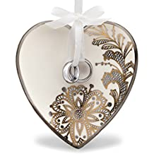 Hallmark Keepsake 2017 With This Ring Wedding Porcelain Dated Christmas Ornament