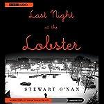 Last Night at the Lobster   Stewart O'Nan