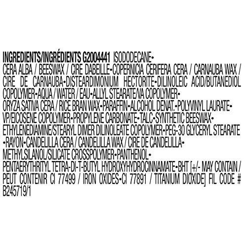 L'Oreal Paris Air Volume Mega Mascara, Lightweight Mega Volume Washable, WATERPROOF Blackest Black, 0.3 fl. oz..