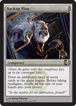 Magic The Gathering - Backup Plan (2/210) - Conspiracy - Foil