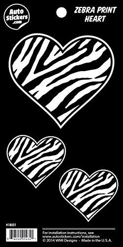 Zebra Decal Set - 6
