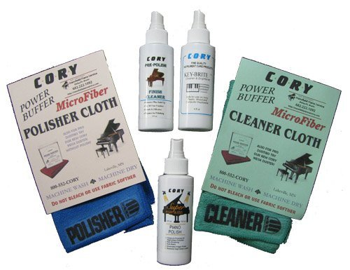 Complete Piano Finish Cleaning and Care Kit - For High Gloss Pianos by Cory Care Products (Image #1)