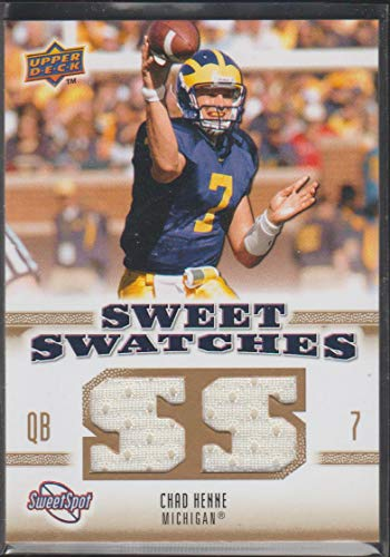 new arrival 63091 c9e44 Amazon.com: 2010 Sweet Spot Chad Henne Michigan/Dolphins ...