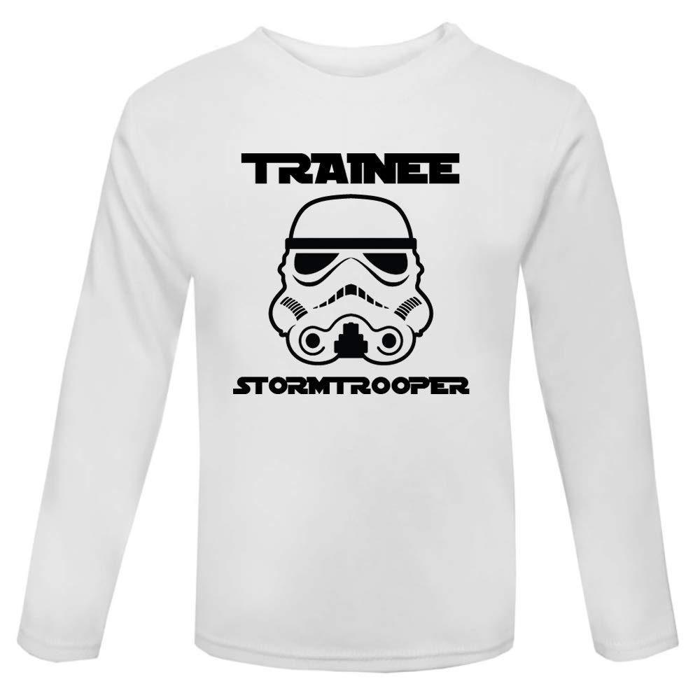 Original Stormtrooper Trainee Stormtrooper Baby and Toddler Long Sleeve T-Shirt