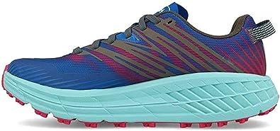 Zapatillas Mujer HOKA ONE One Speedgoat 4 Azul/Rosa: Amazon.es: Zapatos y complementos