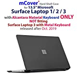 iPearl mCover Hard Shell Case for 13.5-inch Microsoft Surface Laptop (3/2 / 1) Computer (NOT Compatible with Surface Book and Tablet) (Black)