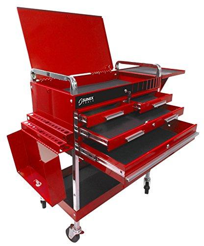 Matco Tool Cart - Sunex 8013ADELUXE Service Cart