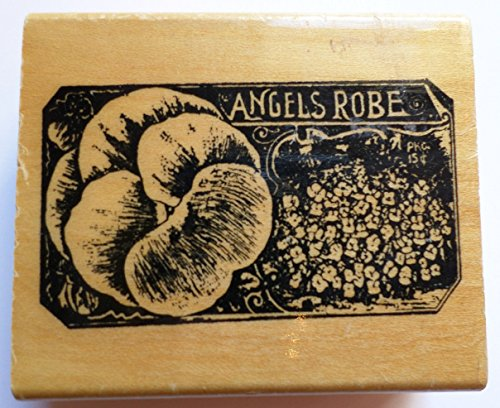 Anita's Angels Robe Seed Packet Flower Garden Botanical Wooden Rubber -