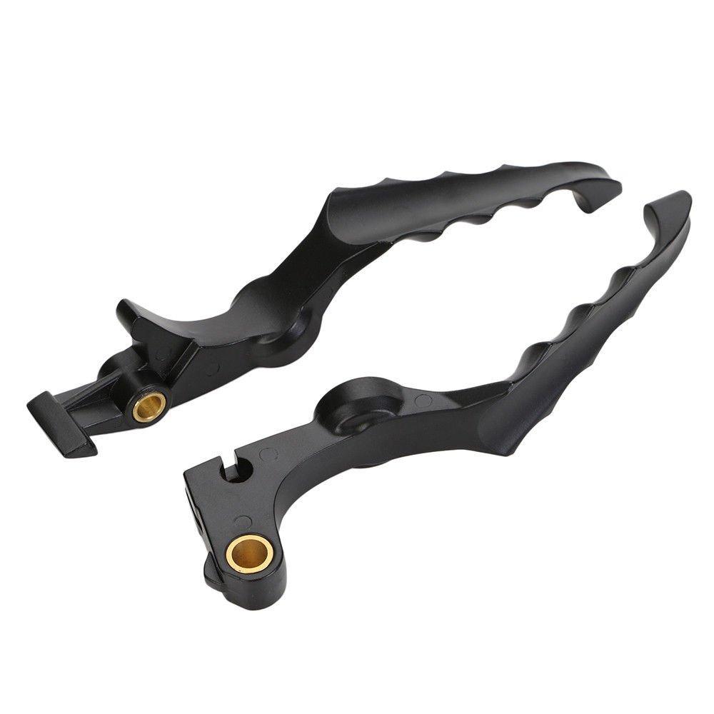 Moto Poign/ée de levier dembrayage de frein cr/âne en aluminium modifi/é pour Honda Shadow F2 F4i Chrome