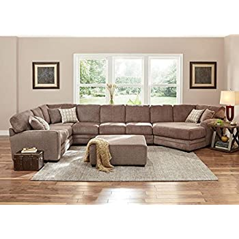 Easton Gray 3 Pc. Sectional With Cuddler Chaise LAF   Sofa