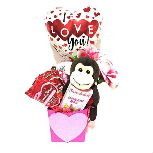 Valentine gift baskets for women