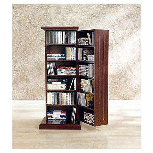 Williamfield Multimedia Cabinet with Magnet Closure Made w/ Wood in Cherry Finish 38.5'' H x 13.5'' D by Red Barrel Studio (Image #2)