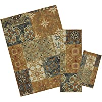 Mohawk Home Soho Harmonic Patch Multi Rug Set (Set Contains: 18 x 30, 20 x 60 and 60 x 84)