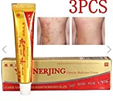 3Pcs Natural Chinese Herbal Medicine Cream Eczema