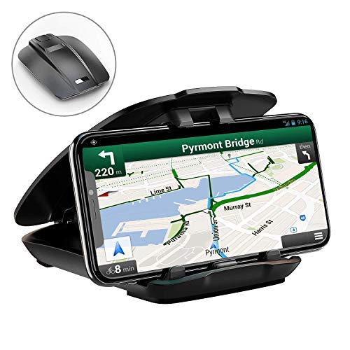 Cocoda Handyhalter fürs Auto Handyhalterung Auto Armaturenbrett Blickwinkel Einstellbar rutschfest für Alle 3,5-6,5″ Geräte