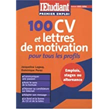 100 cv lettres motivation.. profils