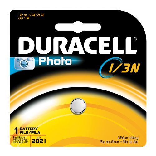 Duracell DL1/3NBPK Ultra Photo Lithium/Manganese Dioxide Battery, 1/3N Size, 3V (Case of 6)