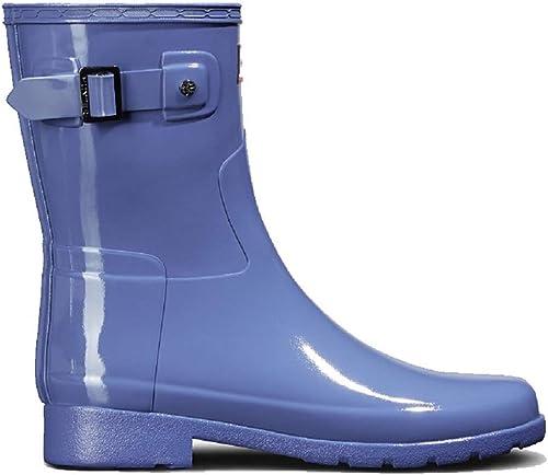 Refined Short Gloss Rain Boot